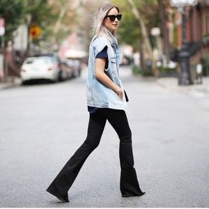 NWT MiH London Jean Mid rise subtle Slim bootcut